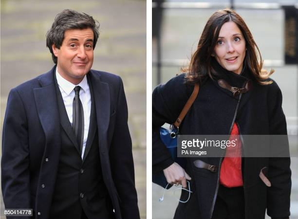 File photos of David Sherborne and Carine Patry Hoskins as Lord Justice Leveson has dismissed the idea that his report on media standards could have...