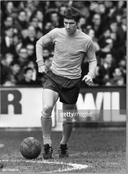 File picture of England's 1966 World Cup winner Alan Ball taken in Everton 15 December 1969 Ball has died from a heart attack while tackling a fire...