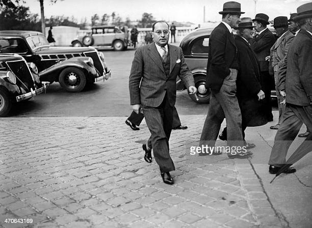 File picture of French Education minister Jean Zay in October 1938 / AFP /