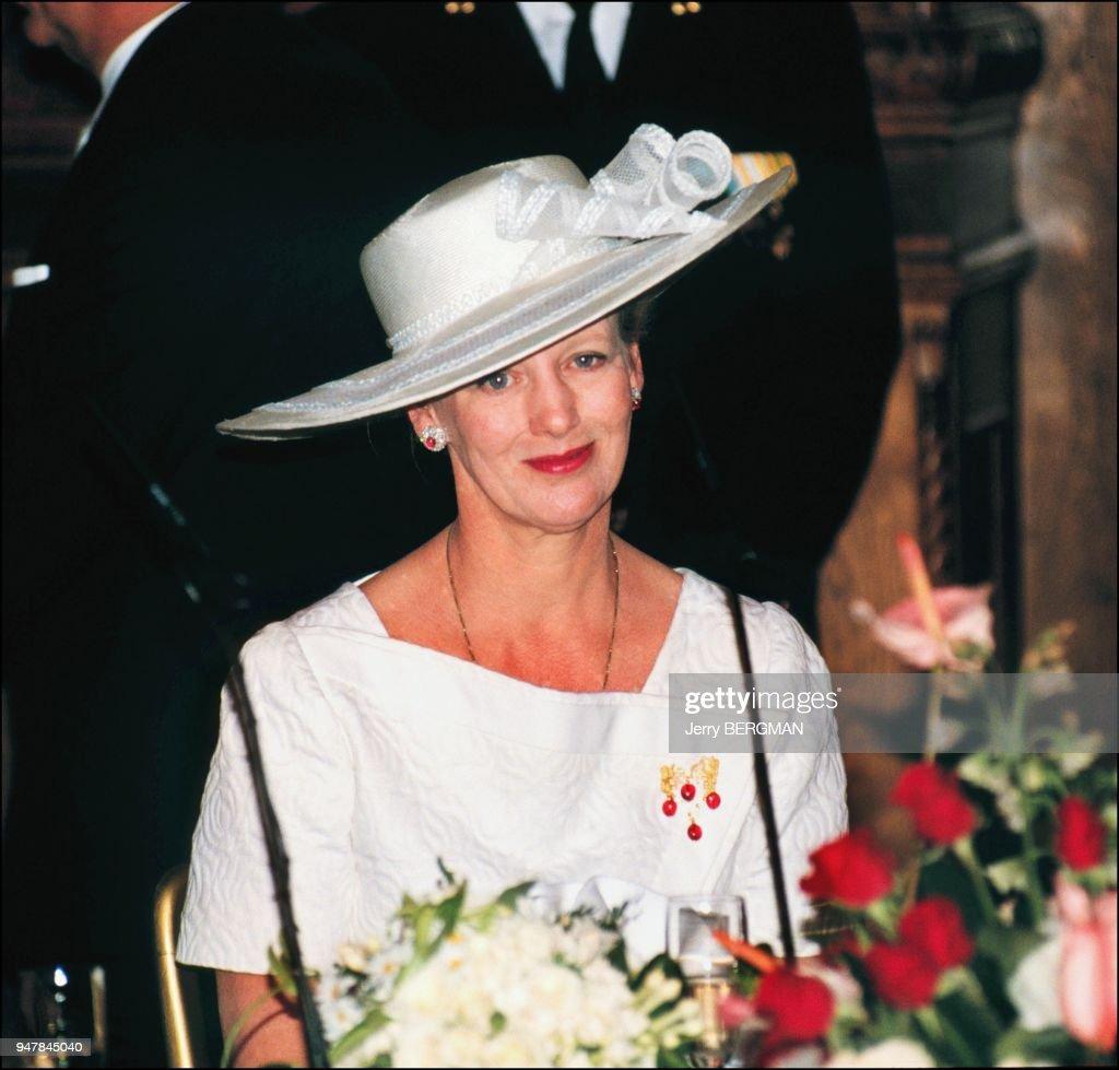 MARGRETHE II, QUEEN OF DENMARK : News Photo