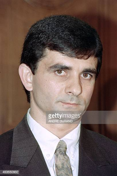 A file picture taken on February 3 1992 shows Luc Tangorre attending his trial at the criminal court in Nimes southern France Luc Tangorre who was...