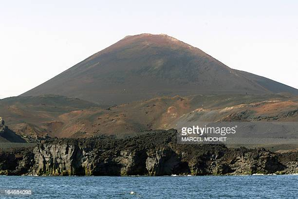 A file picture taken on July 1 2006 shows the Hekla volcano on the Heimaey island belonging to the Vestmann archipelago Iceland announced on March 26...