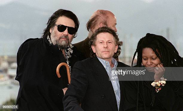 File picture taken on May 8, 1991 shows French filmmaker of Polish origin Roman Polanski posing during the 44th Cannes Film Festival when he was...