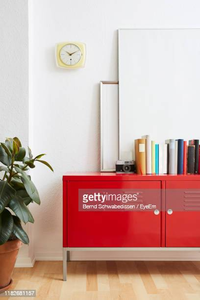 files arranged on table - bookshelf stock pictures, royalty-free photos & images