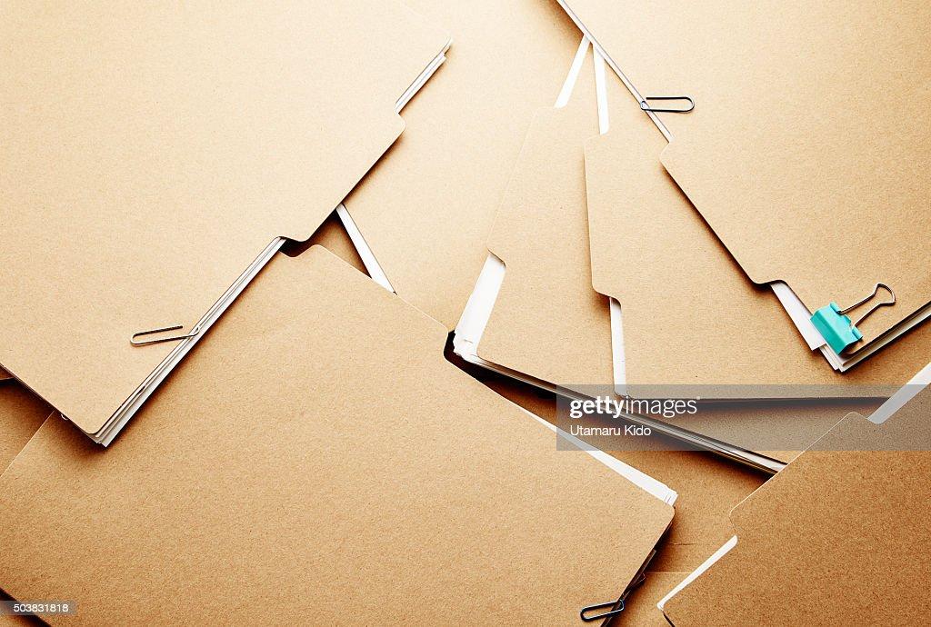 files. : Stock Photo