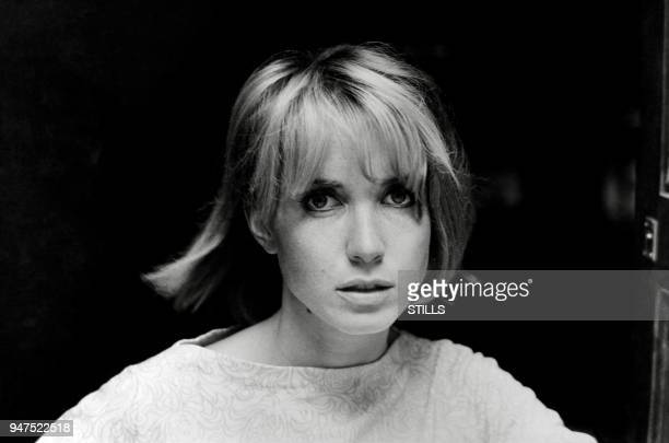 Files pictures of French actress Bulle Ogier in the sixties.