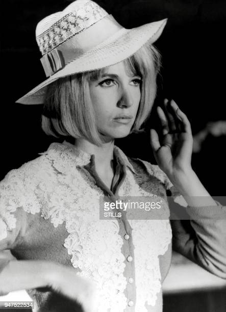 FRANCE Files pictures of French actress Bulle Ogier in the sixties