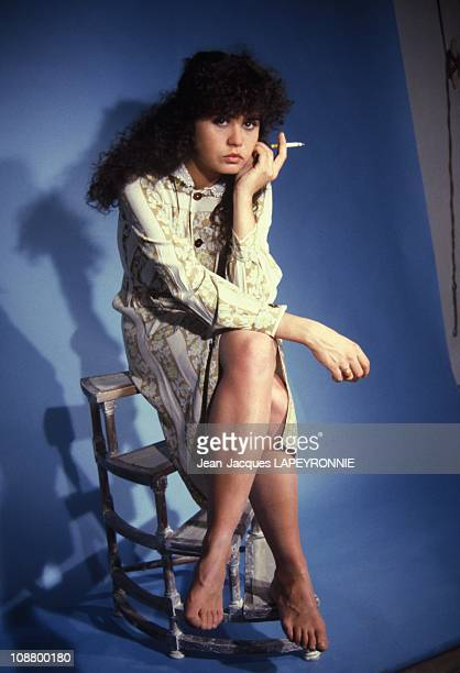Files pictures of French actress Maria Schneider in January 1978