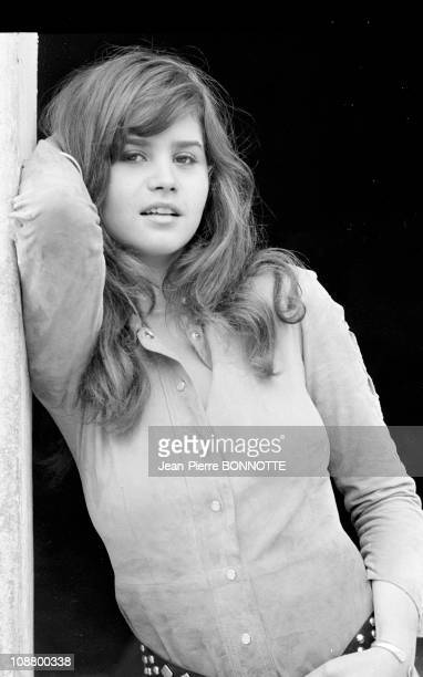 Files pictures of French actress Maria Schneider in September 1970