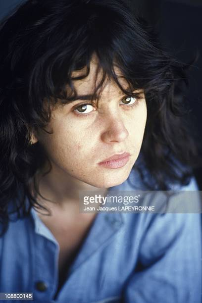 Files pictures of French actress Maria Schneider January 1978