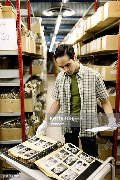 Akten Archivierte portaits.