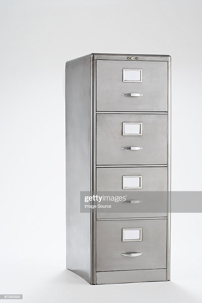 Filing cabinet : Stock Photo