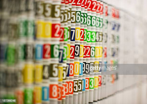 filing system - color coded stock pictures, royalty-free photos & images