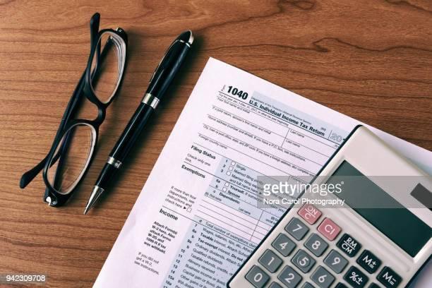 Filing Tax Form