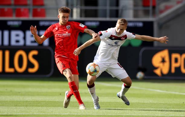 DEU: FC Ingolstadt v 1. FC Nürnberg - 2. Bundesliga Playoff Leg Two