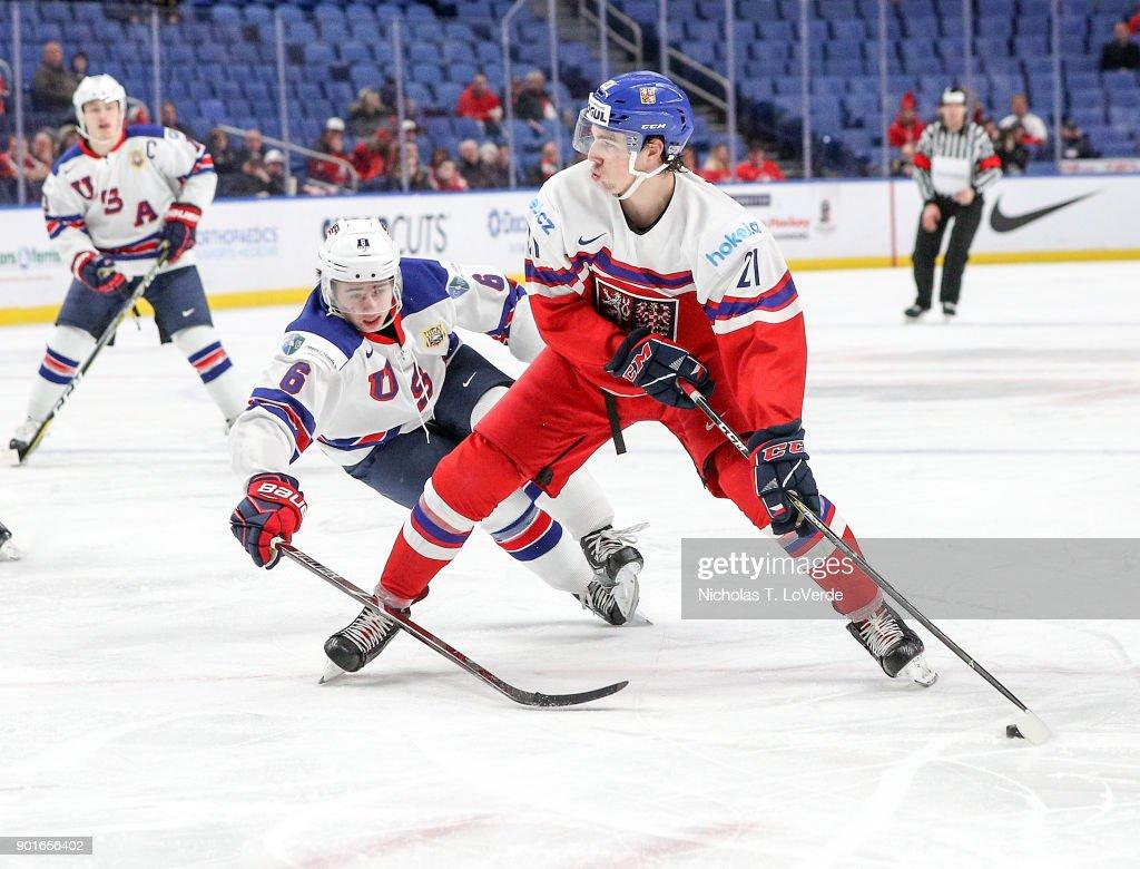 Czech Republic v United States: Bronze Medal Game - 2018 IIHF World Junior Championship : News Photo