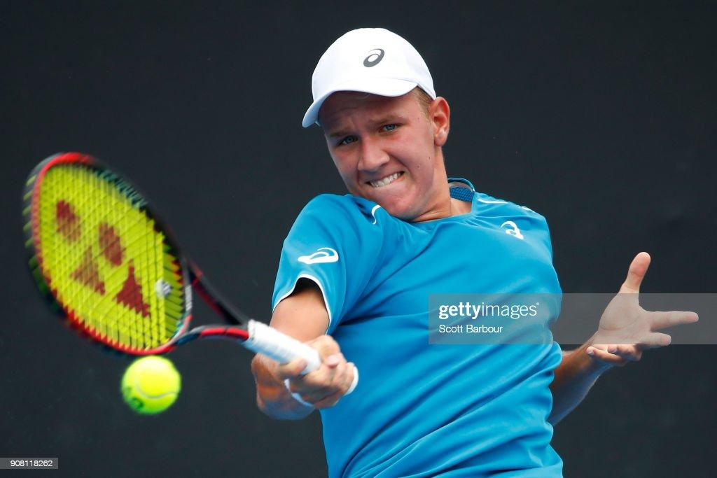 Australian Open 2018 Junior Championships : News Photo