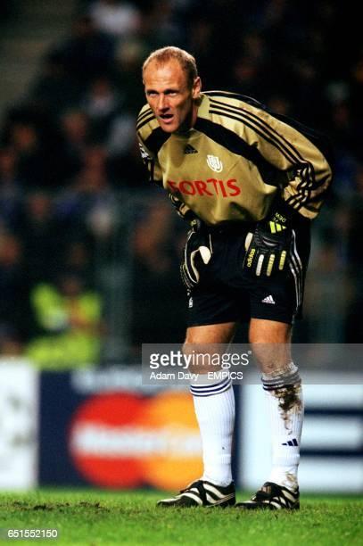 Filip De Wilde Anderlecht goalkeeper