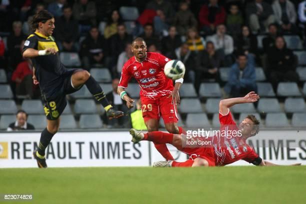 Filip DJORDJEVIC / Mehdi MOSTEFA Nimes / Nantes 32e journee Ligue 2