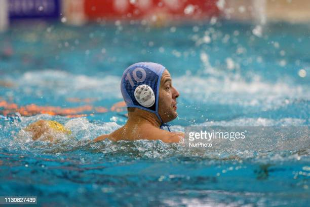 Filip Filipovic of Pro Recco during the Champions League water polo match between Pro Recco and Barceloneta on march 15 2019 at Piscina Monumentale...