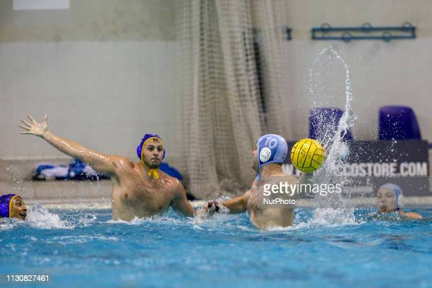 Filip Filipovic of Pro Recco in action during the Champions League water polo match between Pro Recco and Barceloneta on march 15 2019 at Piscina...