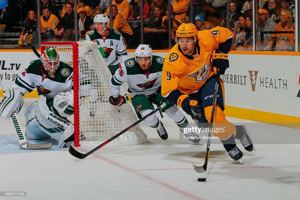 Minnesota WIld v Nashville Predators : News Photo