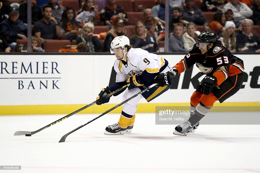 Nashville Predators v Anaheim Ducks : News Photo