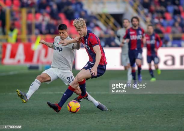 Filip Helander during Serie A 20182019 match between Bologna v Juventus in Bologna on February 24 2019