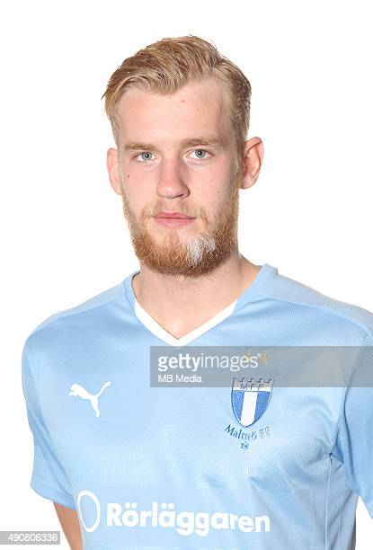 Filip Helander of Malmo poses during a portrait session on March 5 2015 in MalmoSweden