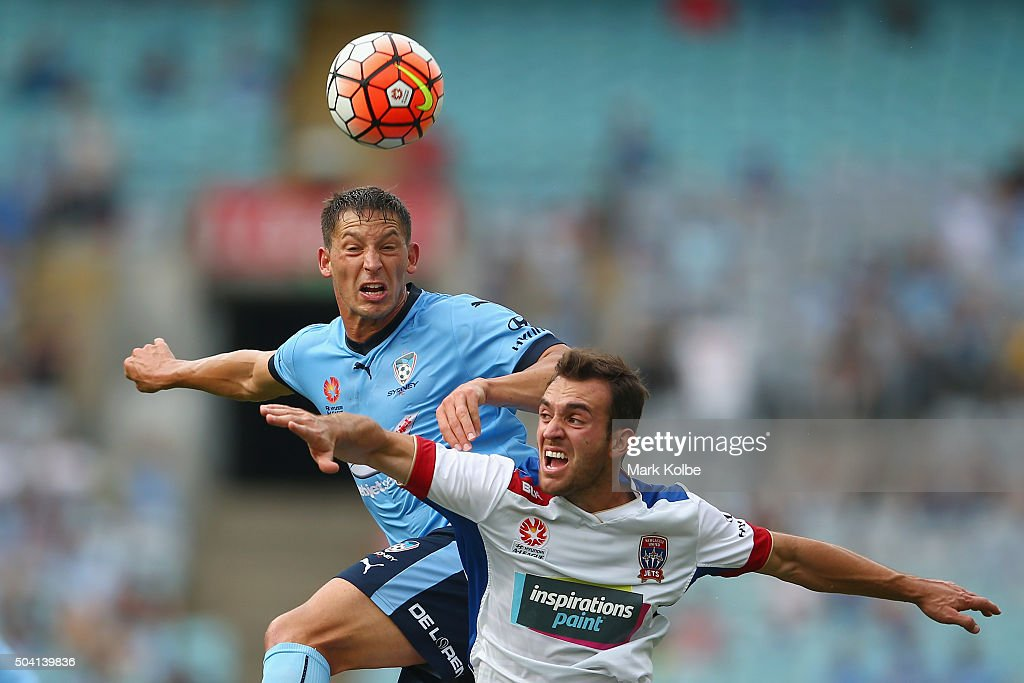 A-League Rd 14 - Sydney v Newcastle