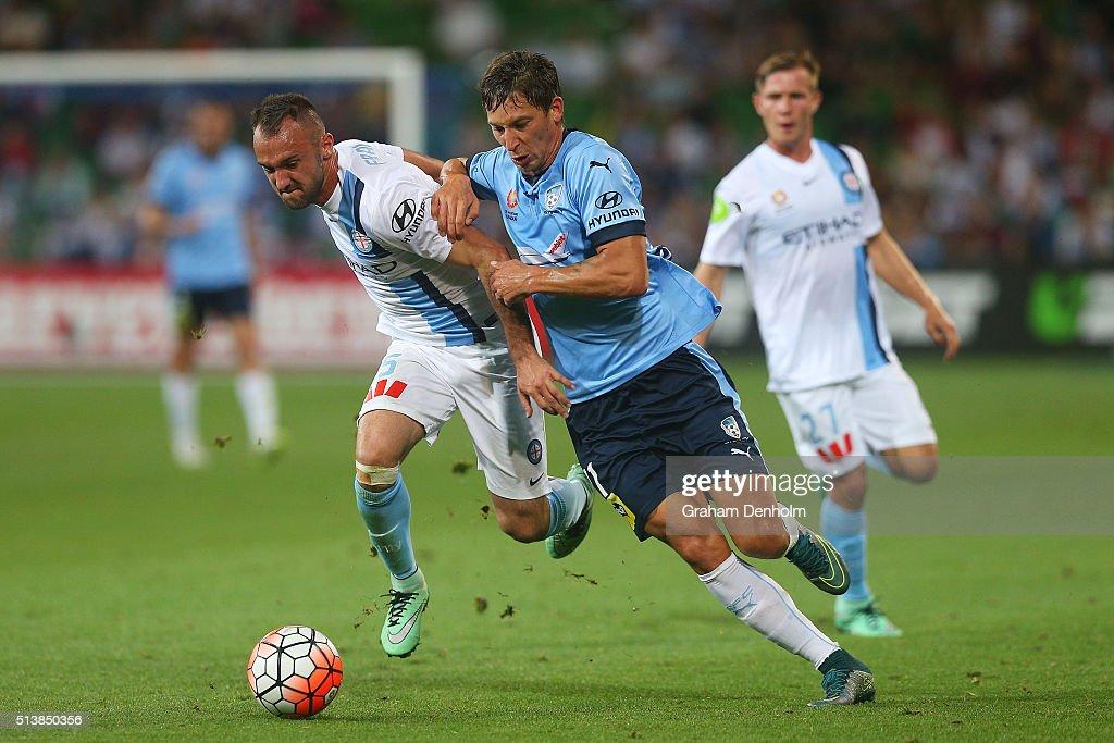 A-League Rd 22 - Melbourne v Sydney