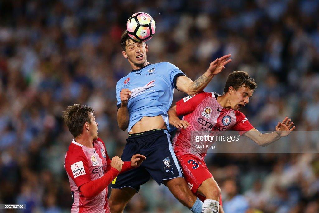 A-League Rd 25 - Sydney v Melbourne
