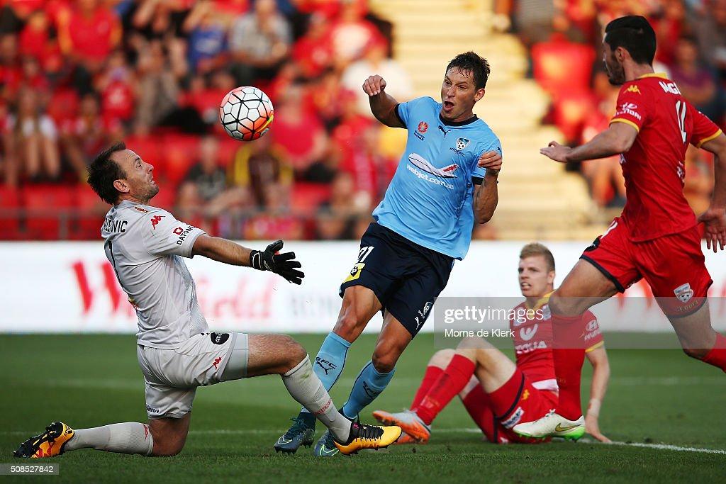 A-League Rd 18 - Adelaide v Sydney