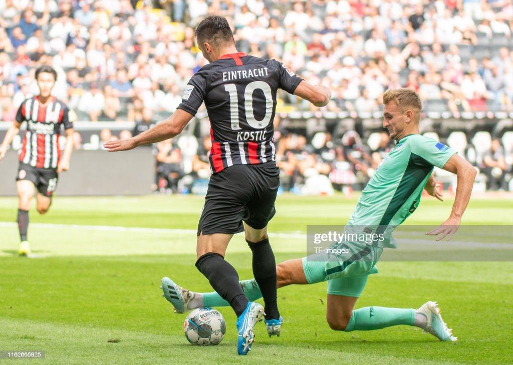Eintracht Frankfurt v TSG 1899 Hoffenheim - Bundesliga : News Photo