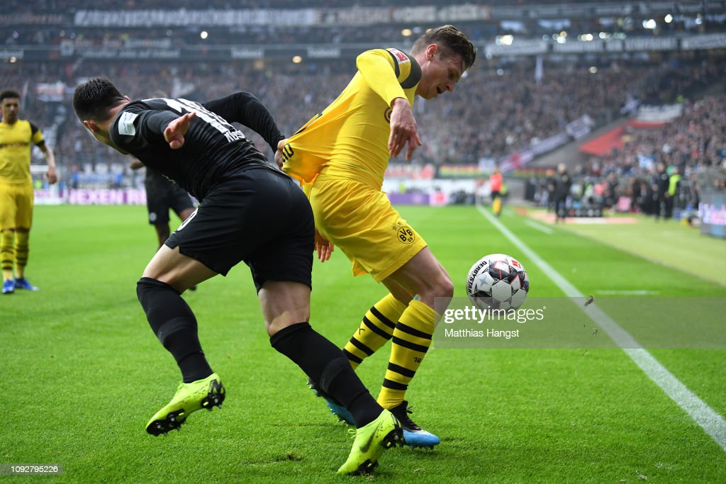 DEU: Eintracht Frankfurt v Borussia Dortmund - Bundesliga