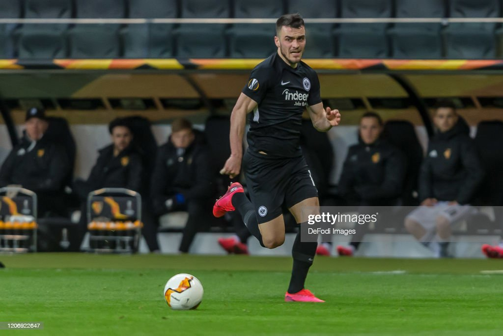 Eintracht Frankfurt v FC Basel - UEFA Europa League Round of 16: First Leg : News Photo