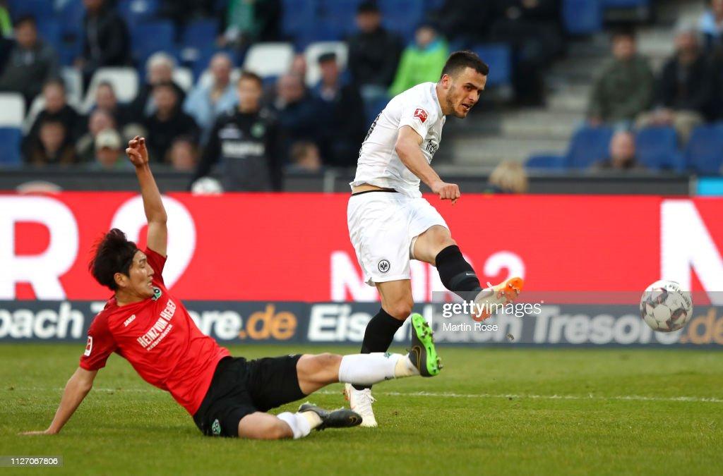 DEU: Hannover 96 v Eintracht Frankfurt - Bundesliga