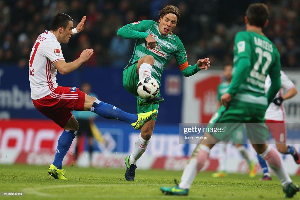 Hamburger SV v Werder Bremen - Bundesliga