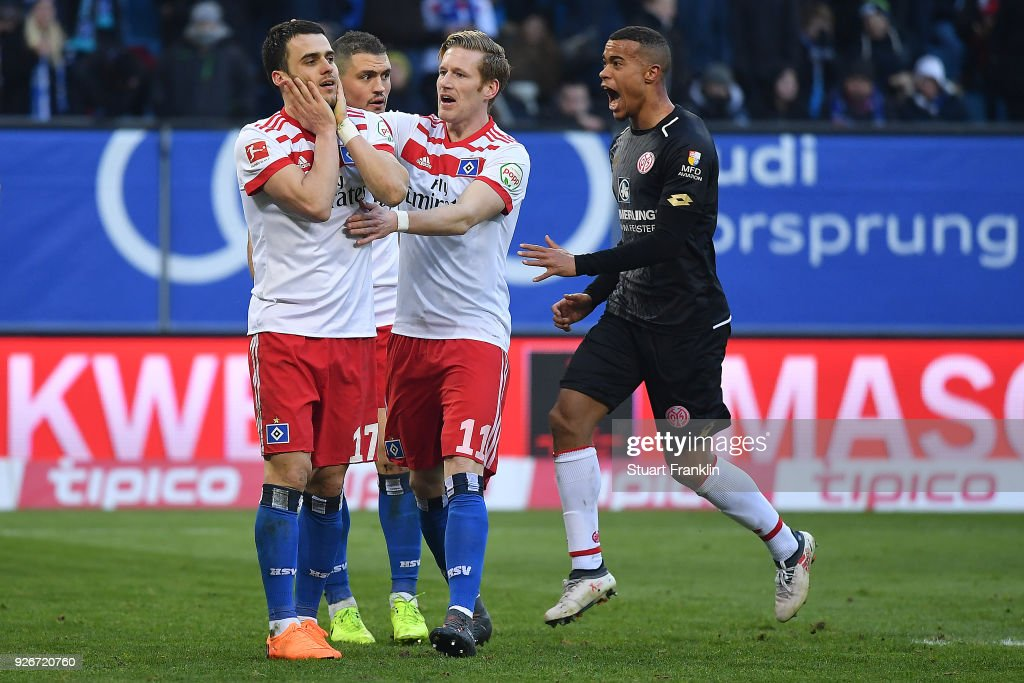 Hamburger SV v 1. FSV Mainz 05 - Bundesliga