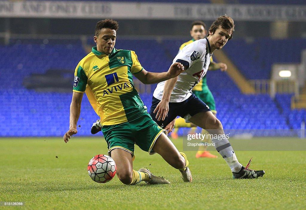 Tottenham Hotspur U21 v Norwich City U21: Barclays U21 Premier League