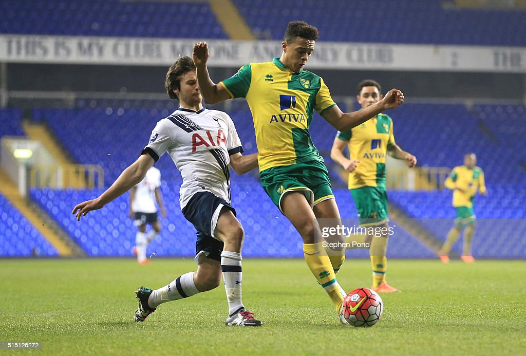 Tottenham Hotspur U21 v Norwich City U21: Barclays U21 Premier League