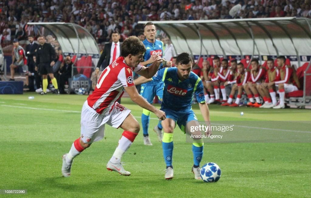 Crvena Zvezda vs Napoli: UEFA Champions League : News Photo