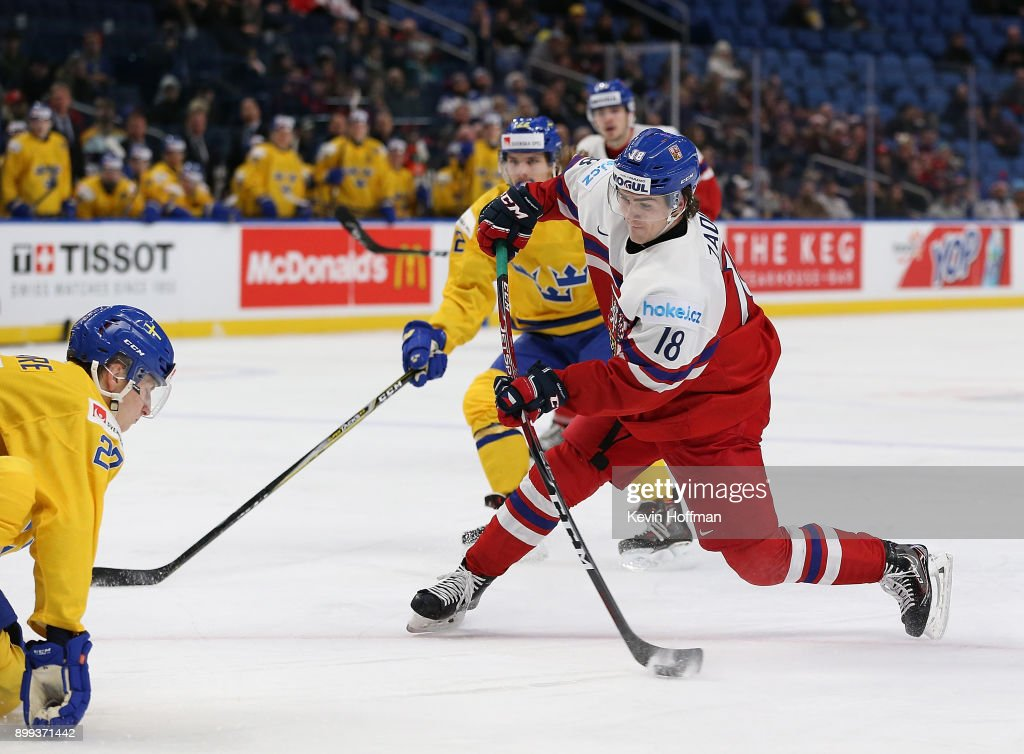 Sweden v Czech Republic - 2018 IIHF World Junior Championship