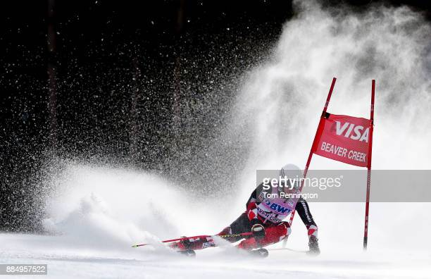 Filip Zubcic of Croatia competes in the Audi Birds of Prey World Cup Men's Giant Slalom on December 3 2017 in Beaver Creek Colorado