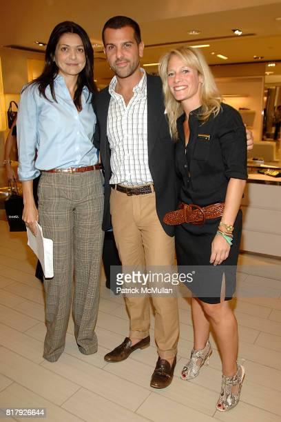 Filipa Fino Alexandre Birman and Tracy Margolies attend Saks Fifth Avenue ALEXANDRE BIRMAN Personal Appearance at Saks Fifth Avenue on September 11...