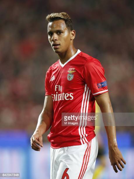 Filipe Augusto of SL Benficaduring the UEFA Champions League round of 16 match between SL Benfica and Borussia Dortmund on February 14 2017 at...