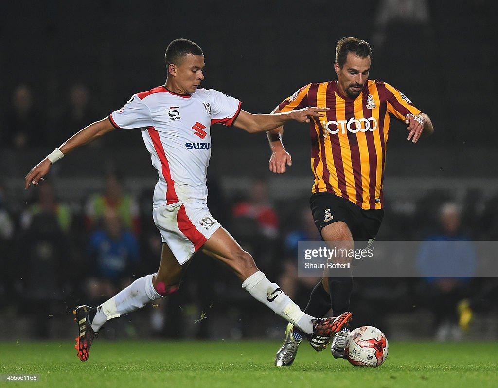 MK Dons v Bradford City - Sky Bet League One : News Photo