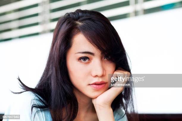 filipina transgender face - menschliches gesicht stock pictures, royalty-free photos & images