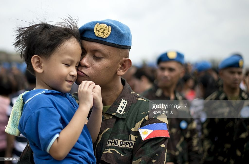 PHILIPPINES-HAITI-UN-ARMY-PEACEKEEPERS : News Photo
