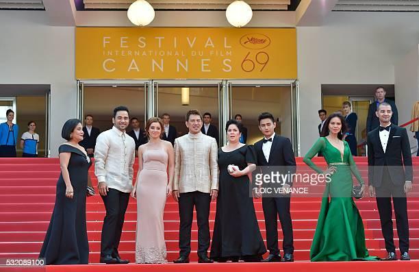 Filipino actress Ruby Ruiz Filipino actor Neil Ryan PSese Filipino actress Andi Eigenmann Filipino director Brillante Mendoza Filipino actress Jaclyn...